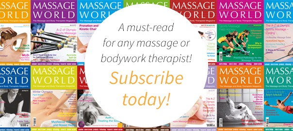 Massage World Magazine subscribe